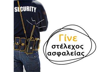 Στέλεχος ασφάλειας προσώπων και υποδομών (Security)